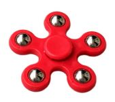 Fashblush Red Hand Fidget Spinner Anti Anxiety, High Quality Stress Reliever With 5 Sides Steel Balls ( Product Code Fb72014)