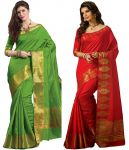 Rakhi Gifts - Heavy Art Silk Saree For Your Sister