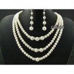 Rakhi Gifts...designer Pearl Set For Your Sister