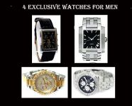 Exclusive Offer...4 Stylish Watches