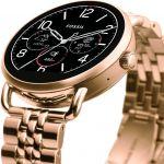 Fossil Wander Rg Braceletrose Gold Smartwatch (gold Strap)