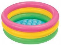 "Baby Bath Tub Baby Kids Swimming Pool Inflatable 34"" X 10"""