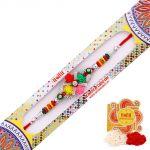 Rakshabandhan Artistic Rose Design Rakhi
