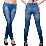 Slim N Lift Caresse Blue Jeans Leggins Jeggins Tummy Shaper Trimmer Western