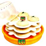 Eci - 12 Moulds Microwave Idli Maker Idly Steamer, Idlis In Micro Wave Oven