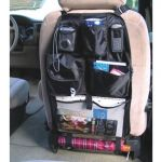 Autofurnish 3d Car Auto Seat Back Multi Pocket Storage Bag Organizer Holder Hanger Accessory