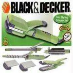 Black & Decker Hair Styler / Straightener Full Kit