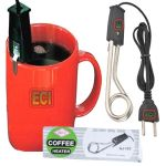 Eci - Mini Coffee Heater Immersion Rod, Boil Water For Tea, Heat Boiler