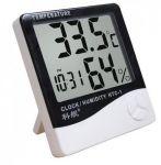 3 In 1 Multifunctional Clock, Room Temperature & Humidity Meter