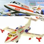 Delivery Plane Flight Aircraft Kids Toy Aeroplane