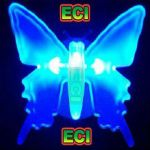 Zero Watts Butterfly Night Lamp Dim Light