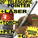 Presentation Pen With Laser & Telescopic Pointer