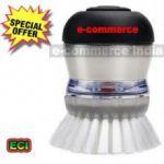 Automatic Brush With Soap Dispensing Dishwashing