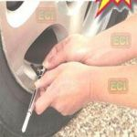 Car / Bike Tyre Air Pressure Gauge Pencil Type