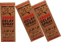 3 Lot X Deadly Shark Power 48000 - With Vitamin E (delay Spray For Men) - Long Last Sex