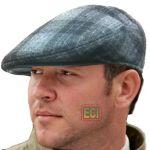 Eci - Gents Flat Cap English Men Golf Hat Bunnet Bonnet Beret Cabbie