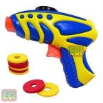 Safe Foam Disc Shooter Gun Shooting Kids Toys Game