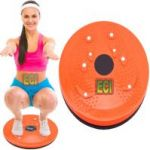 Eci - Body Twister Tummy Twisting Rotating Disc Platform Waist Trainer Disk