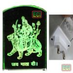 Sheran Wali Maa Jai Mata Di Night Lamp Light 220v