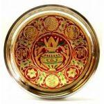 Ratna Handicrafts Kalash Meenakari Pooja Thali