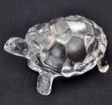 "Divya Feng Shui Beautiful Crystal Tortoise 3.25"""