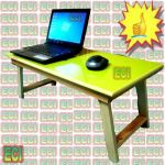 Multipurpose Wooden Laptop Bed Table, Foldable Notebook Netbook Stand