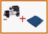 Coido 6218 12v Compressor With Microfiber Cloth