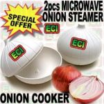 2pcs Microwave Oven Onion Steamer Cooker