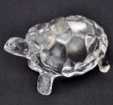 Divya Mantra Feng Shui Beautiful Crystal Tortoise 3.25 Inches