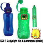 Eci - Sports Water Sipper Bottle With Ice Sick Tube Candle Keep Drinks Cool