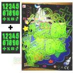 Radium Numbers Kids Educational Toys Glow In Dark