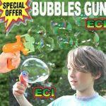 Electronic Automatic Soap Bubbles Maker Gun