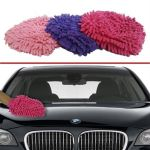Microfiber Glove For Car Cleaning Washing Set Of 3