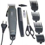 9 PC Gents Electric Hair Cutting Barber Clipper Rmet