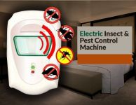 Electronic Insect & Mosquito Killer Machine With Air Purifier Technology