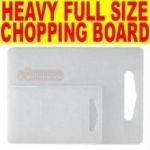 Full Size Heavy Anti Bacterial Chopping Board
