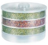 Moforce Sprout Maker Big - 1800 Ml Plastic Food Storage(white)