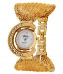 Glory Golden Fancy Jaal Ladies Watch
