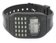 Calculator Sports Wrist Watch For Men