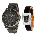 Stylish & Sober Wrist Watch Buy 1 Get 1 Free-mf19