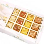 Diwali Gifts Sweets- Assorted Barfis White Box