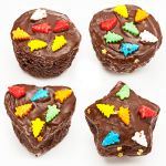 Gifts-assorted Shapes Chocolate Cake Bites