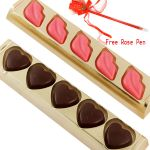 Valentine Gifts Chocolate - Kisses And Lips Trays