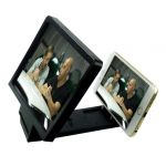 Rissachi 3d Magnifier Glass Enlarge Screen For All Mobile Phone (black)