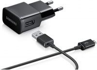 Snaptic Hi Quality Black USB Travel Charger For Xiaomi Mi Note