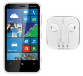 Hi Definition Stereo Earphones With Mic For Nokia Lumia 620