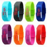 Unisex LED Silicone Smart Band Digital Sports Wrist Watch