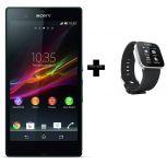 Sony Xperia Z Smartphone + Sony Mn2 Android Watch