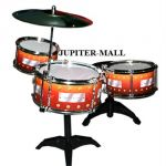7pcs Drum Set Musical Band Instrument Playset Toy