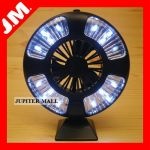 Magnetic Camping Camp Hiking Tent Lamp Light Fan